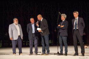 Il presidente Grasso al Teatro Greco (foto Centaro)