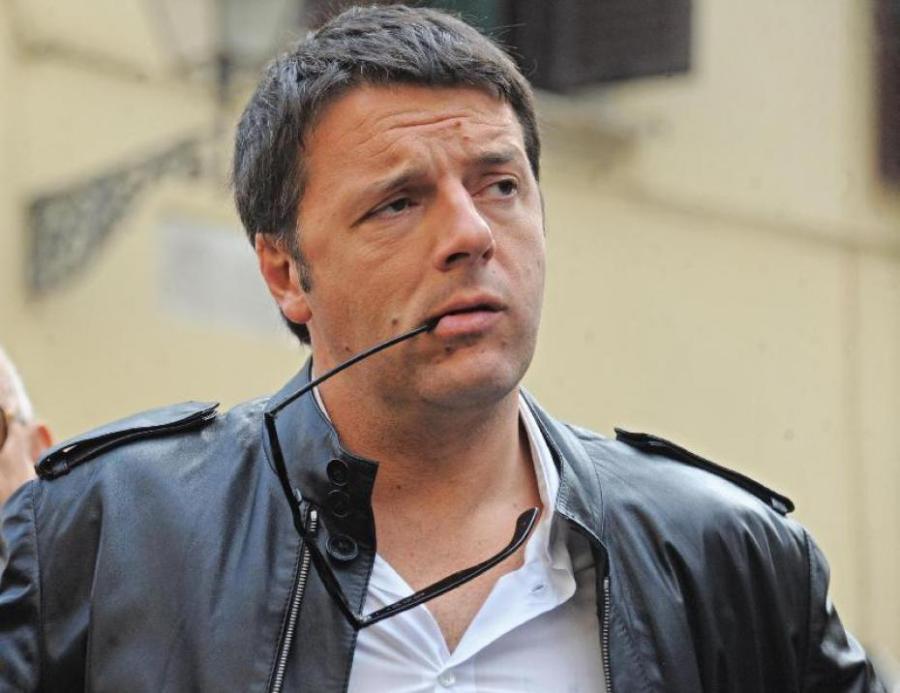 Il presidente del Consiglio e segretario del PD, Matteo Renzi