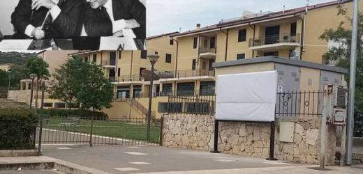 Un cartellone-monumento in ricordo delle vittime delle mafie con Falcone e Borsellino, si inaugura sabato a Canicattini