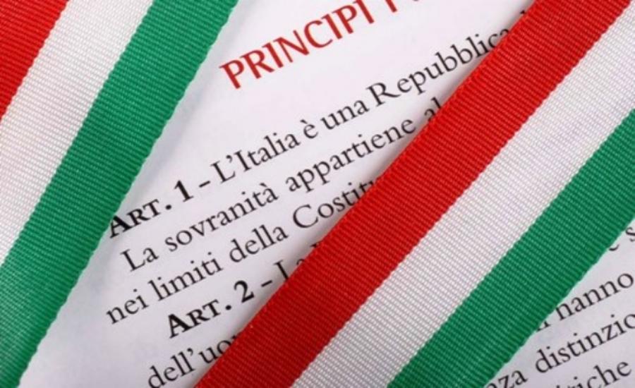Art. 1 - L'Italia è una Repubblica democratica, fondata sul lavoro. La sovranità appartiene al popolo, che la esercita nelle forme e nei limiti della Costituzione