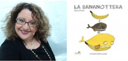 """Canicattini, sabato incontro con la scrittrice Maria Lucia Riccioli e la sua """"Bananottera"""" per  Nati per Leggere"""