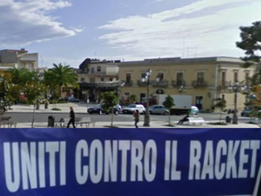 La città di Solarino scende in piazza contro il racket