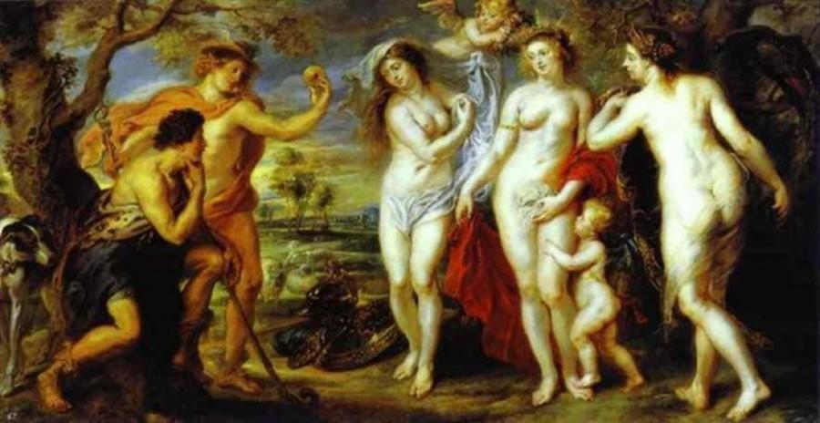 Il Giudizio di Paride di Pieter Paul Rubens