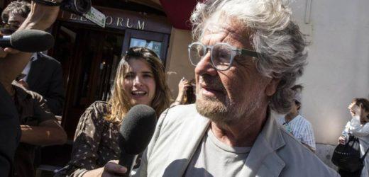 Beppe Grillo e l'onorevole Trombetta