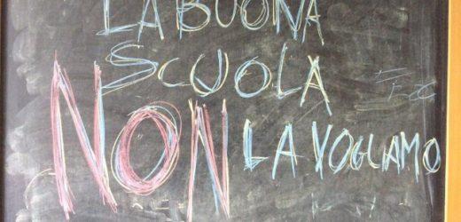 """Un chiaro NO dei docenti anche a Siracusa e in provincia alla legge sulla """"Buona Scuola"""" del governo Renzi"""