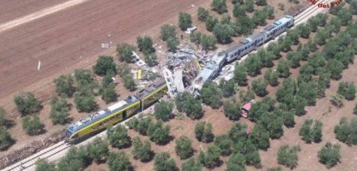 Quell'unico binario al Sud dell'emigrazione e della morte. Sono già 22 i morti estratti nello scontro dei treni tra Andria e Corato