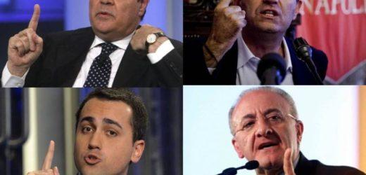 Dalla Campania con furore… per salvare l'Italia