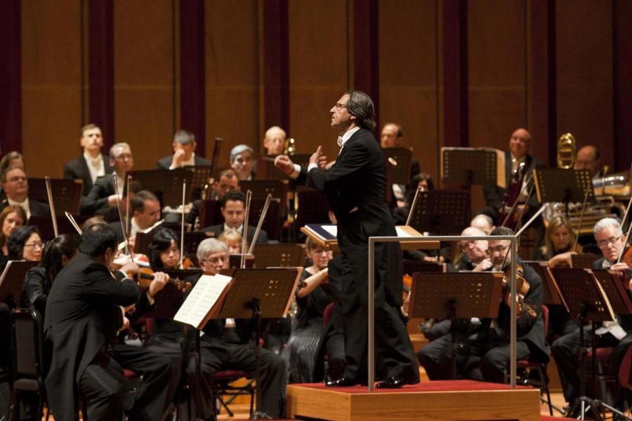 Il maestro Riccardo Muti