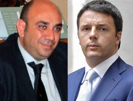 Giancarlo Garozzo e Matteo Renzi