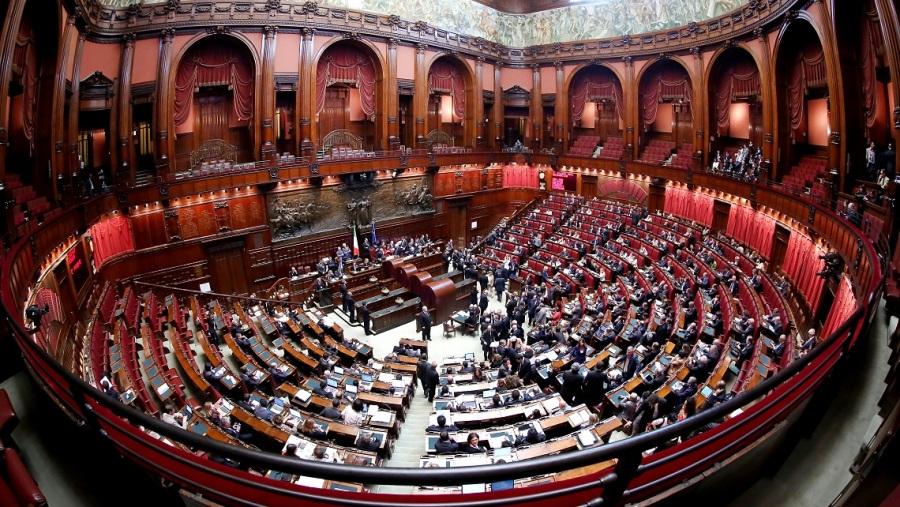 L'aula del parlamento italiano
