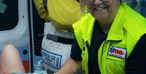 Parto in ambulanza per una 24enne di Sortino lo scorso ferragosto, i complimenti dei vertici dell'Asp all'equipaggio