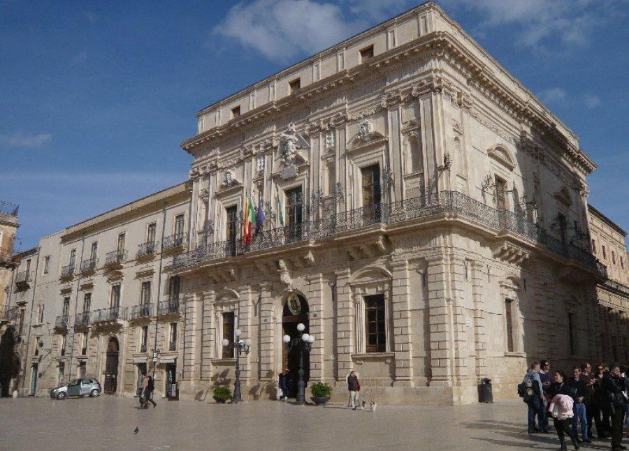 Il palazzo Comunale di Siracusa nel cuore di Ortigia