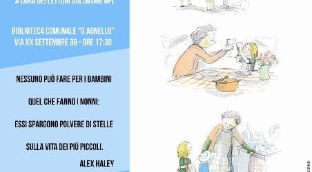 """Domenica 2 ottobre """"Festa dei Nonni"""" alla Biblioteca comunale di Canicattini Bagni con letture e racconti per i nipoti"""