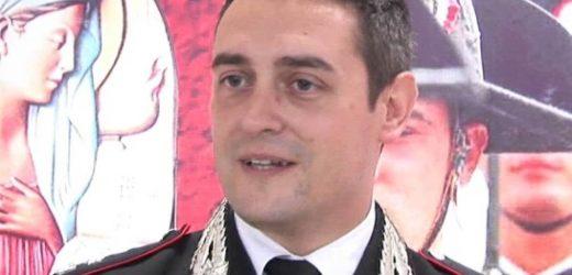 Il maggiore Paolo Sambataro lascia il comando della Compagnia Carabinieri di Siracusa, trasferito a Genova
