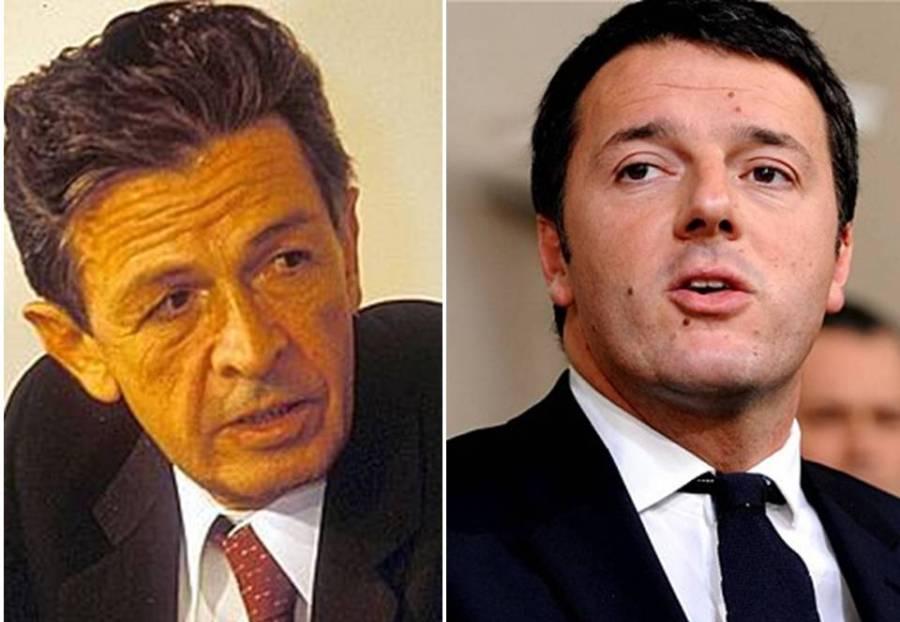 Enrico Berlinguer e Matteo Renzi