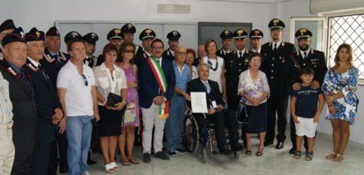 Pachino, medaglia d'argento al valore dell'Arma dei Carabinieri al brigadiere Luciano Magnano
