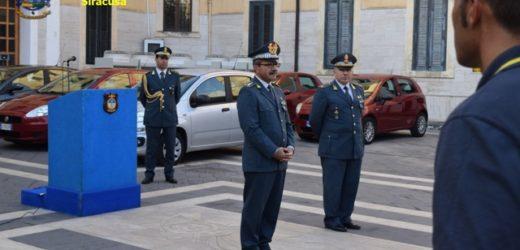Visita al Comando provinciale della Guardia di Finanza del comandante interregionale generale Giuseppe Vicanolo