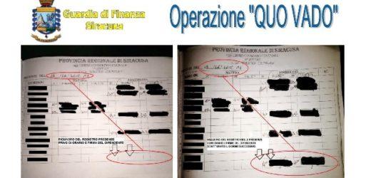 """Operazione """"Quo Vado"""". Sono 29 i dipendenti dell'ex Provincia di Siracusa accusati di assenteismo, truffa e false attestazioni"""