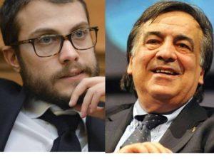 Fausto Raciti e Leoluca Orlando