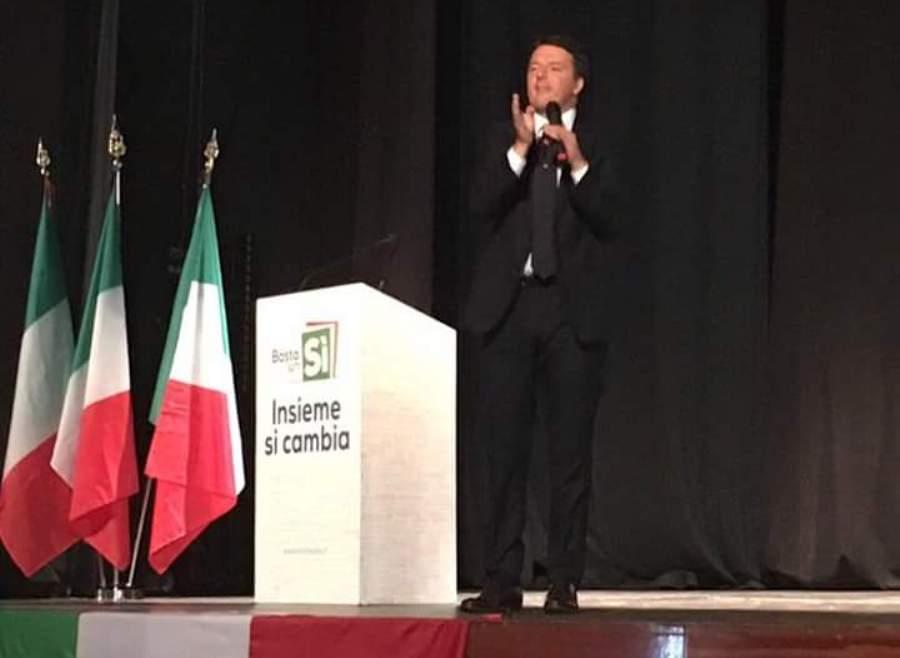 Matteo Renzi al Vasquez di Siracusa