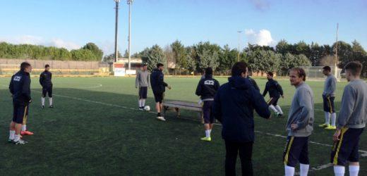 Riprende gli allenamenti con due amichevoli il Palazzolo in vista dell'incontro dell'8 gennaio col Rosolini