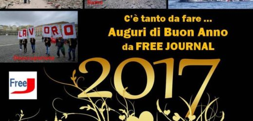 Auguri di Buon Anno da FREE JOURNAL