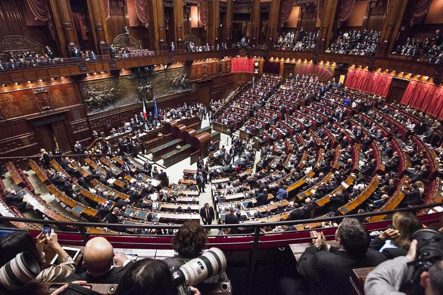 Seduta a Camere riunite per l'elezione del Presidente della Repubblica