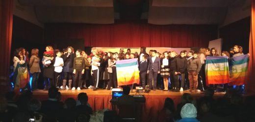 Riflessione e spettacolo sul Natale degli studenti della media di Canicattini con i loro compagni migranti di Casa Aylan