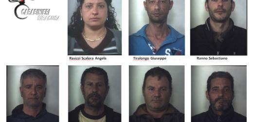 """Scattata ieri l'operazione ad """"Alto Impatto"""" dei Carabinieri a Siracusa, sette le persone arrestate e 16 quelle denunciate"""