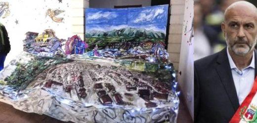 Il sindaco Pirozzi di Amatrice scrive al Comune di Canicattini per ringraziare Sergio Carpinteri per il suo Presepe sulla città