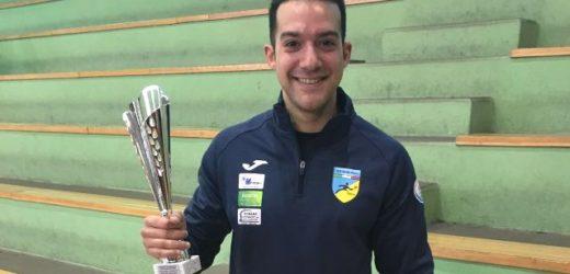 Il canicattinese Marco Bordonaro si è aggiudicato domenica il Torneo Blu nazionale di Tennistavolo svolto a Canicattini