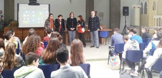 """Incontri della Polizia sulla """"legalità"""" negli istituti scolastici, questa mattina è stata la volta dell'Archimede di Siracusa"""