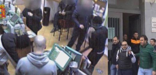 Pachino, la Polizia arresta i presunti autori di una rapina incastrati dalle immagini della videsorveglianza