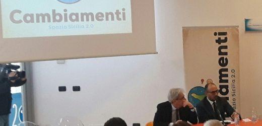 Critico il segretario della Cgil Alosi con il ministro De Vincenti e il sottosegretario Faraone, nei giorni scorsi a Siracusa