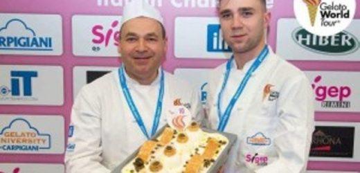 """Saranno il pasticcere ferlese Franco Manuele e il figlio a rappresentare l'Italia ai mondiali del """"Gelato World Tour"""""""