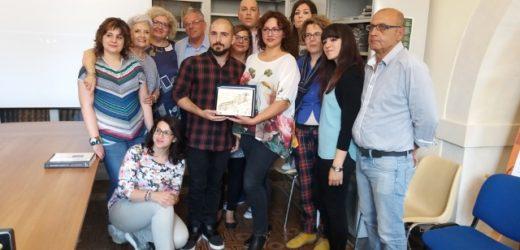 Riconoscimento per il corto della Biblioteca di Canicattini dalla presidente della Commissione per la Biblioteca dell'Ars
