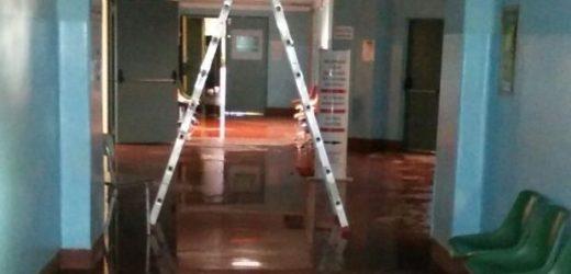 Siracusa, allagamento stamattina all'ospedale Rizza a Siracusa, pronte squadre della manutenzione e Vigili del Fuoco