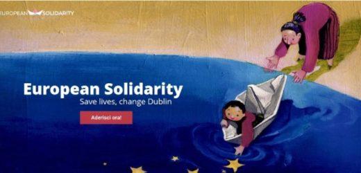 """Canicattini Bagni aderisce alla mobilitazione """"European Solidarity"""" per cambiare il trattato di Dublino sugli immigrati"""