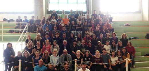 Ospiti del Liceo Scientifico di Canicattini Bagni 16 studenti olandesi incontrano il sindaco Amenta