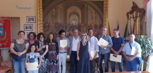 "Presentato al Comune di Canicattini Bagni il workshop internazionale di scultura ""Lap-Idèo2"""