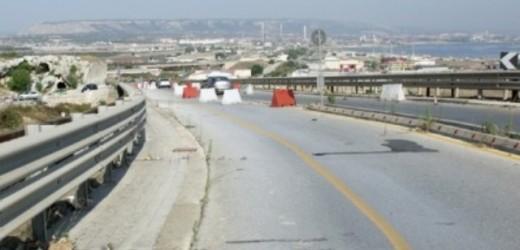 Chiuso giovedì il viadotto di Scala Greca a Siracusa per il completamento della nuova bretella della Targia