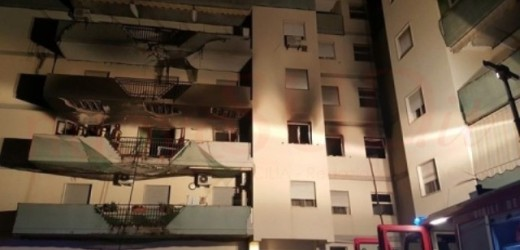 Notte d'inferno in una palazzina della Mazzarrona distrutta dalle fiamme scaturite da una perdita di gas. Grave un anziano