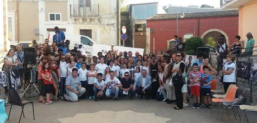 Ieri a Canicattini celebrata la Giornata Mondiale del Rifugiato con l'inaugurazione della riqualificata Piazzetta San Giovanni