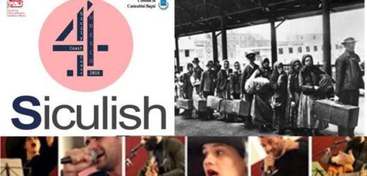"""Dieta Mediterranea e """"Siculish"""", la lingua dell'emigrazione in America, al centro dello spettacolo di martedì 23 a Canicattini"""