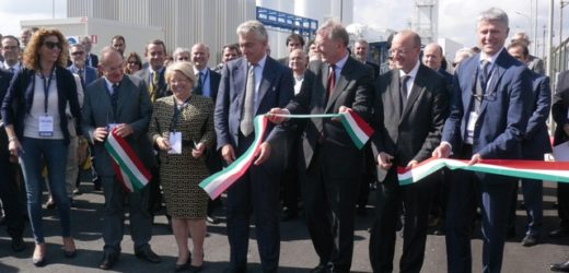 Inaugurato stamani il nuovo impianti di cogenerazione da 44 MW  di Sasol ad Augusta, oltre 40 milioni di investimenti