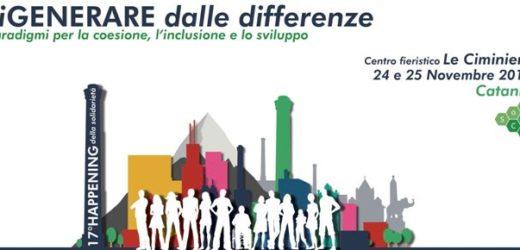 Da giovedì a Catania il 17° Happening della Solidarietà, la due giorni del Sud su Terzo Settore, Welfare ed Economia Civile