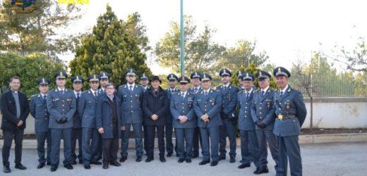 Visita del vescovo di Noto mons Antonio Staglianò alla Brigata di Pachino della Guardia di Finanza