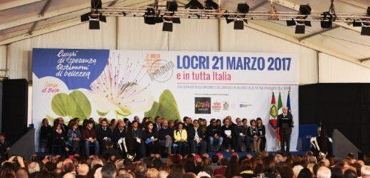 """""""Tutti sbirri con don Luigi Ciotti"""", a Locri la Giornata della Memoria e dell'Impegno contro le mafie promossa da Libera"""