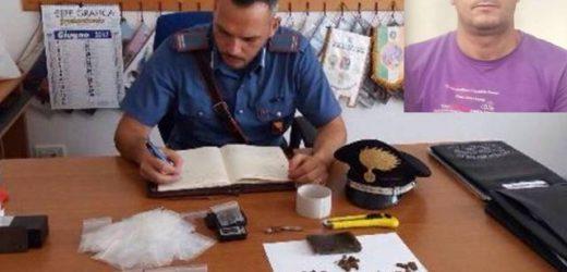 Marzamemi, ai domiciliari un 42enne trovato in possesso di un panetto di hashish di 130 grammi