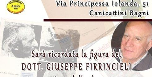 Si ricorda domenica Giuseppe Firrincieli,  farmacista e studioso del dialetto, i suoi libri donati alla biblioteca comunale